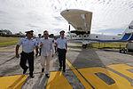 MINISTRO VALAKIVI ENTREGÓ MODERNA FLOTA DE 12 AERONAVES CANADIENSES TWIN OTTER DHC-6 SERIE 400 A LA FUERZA AÉREA DEL PERÚ (19584847762).jpg