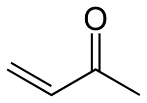 Enone - Methyl vinyl ketone, the simplest enone