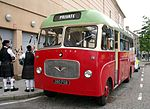 File:MacBraynes Bus - 1963 Restored Bedford coach 380FGB - used by Northern Constabulary Pipe Band at Armed Forces Day Parade Inverness Scotland (4824992258).jpg