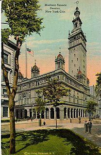 Madison Square Garden (1890) Former arena in Manhattan, New York