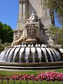 Madrid - Plaza de España, Monumento a Miguel de Cervantes 5.jpg