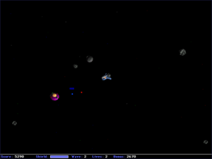Screenshot of Maelstrom by Ambrosia Software f...
