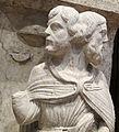 Maestro dei mesi, 01 giano bifronte (anno vecchio e anno nuovo) gennaio, 1225-1230 ca. 03.JPG