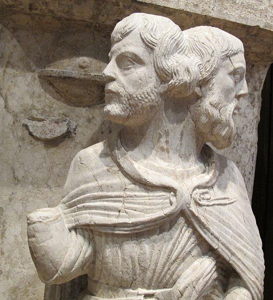 File:Maestro dei mesi, 01 giano bifronte (anno vecchio e anno nuovo) gennaio, 1225-1230 ca. 03.JPG