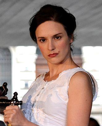 Magdaléna Borová - Magdaléna Borová in 2014 as Dorotka from Josef Kajetán Tyl's The Bagpiper of Strakonice