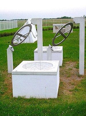 Maharishi Vedic City, Iowa - Instruments at the Vedic Observatory.