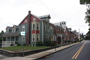 Leesport, Pennsylvania - Main Street in Leesport