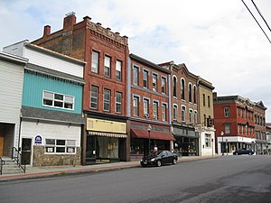 Whitehall, New York - Main Street Historic District