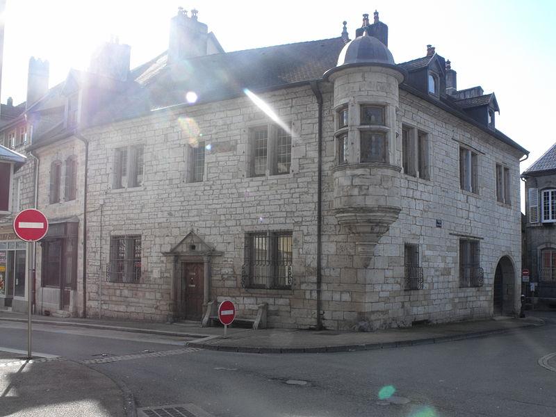 Maison à tourelle, Baumes les Dames, Doubs, France