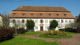 Poles in France - Stanisław Leszczyński's Palace in Wissembourg