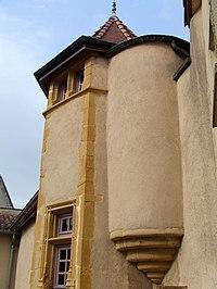 """Maison dite """"ancien prieuré"""" Tarare (Rhône) détail.jpg"""