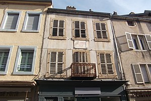 Jean-Léon Gérôme - Birthplace of Jean-Léon Gérôme in Vesoul (France).