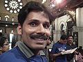 Malayalam wikipedian Rajesh odayanchal in wci2011 9647.JPG