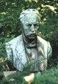 Malopolska Krakow Kopernika 27 Ogród Botaniczny popiersie Raciborski stan 2001r A-575.tif