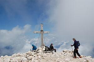Mangart - Image: Mangart peak