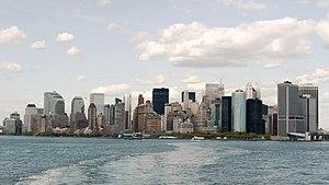 English: Manhattan Skyline from Staten Island ...