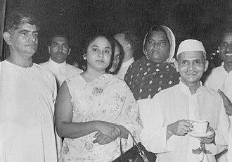 Mani Ram Bagri - Sh. Mani Ram Bagri with Sh. Lal Bahadur Shastri