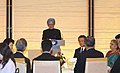 Manmohan Singh addressing at a banquet hosted by the Prime Minister of Japan, Mr. Taro Aso and Mrs. Aso in honour of the Prime Minister, Dr. Manmohan Singh and Smt. Gursharan Kaur, in Tokyo, Japan on October 22, 2008.jpg