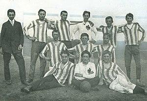 Mannschaftsfoto SC Germania Reusrath 1914