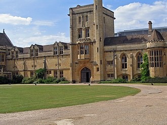 G. B. Caird - Mansfield College, Oxford: main entrance