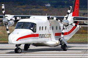 Manx2 - Manx2 branded FLM Aviation owned Dornier 228-202K