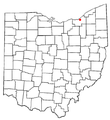 MapCleveland in ohio.png