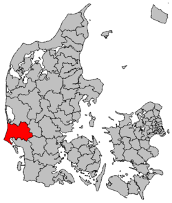 Location of Varde