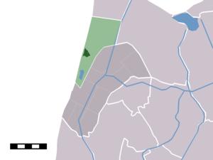Callantsoog - Image: Map NL Zijpe Callantsoog