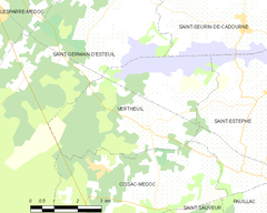 Map commune FR insee code 33545.png