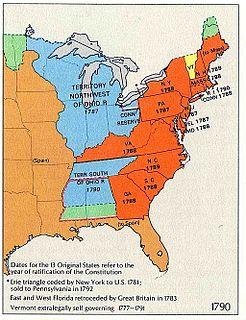 Timeline of United States history (1790–1819)