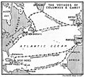 Map of the voyages of Columbus and Cabot Wellcome M0007960.jpg