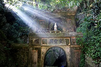 Da Nang - A gateway leading to Huyen Khong Cave in the Marble Mountains.
