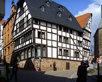 Building - A timber-framed house in Marburg (Germany)