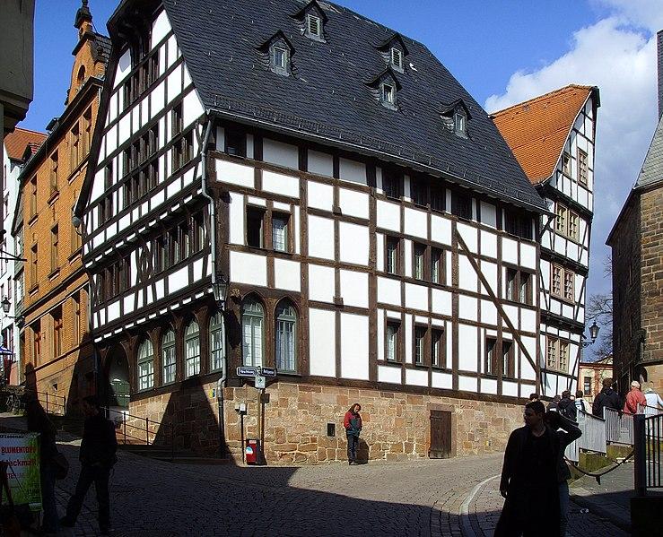 File:Marburg, Fachwerkhaus von 1321 (2).jpg
