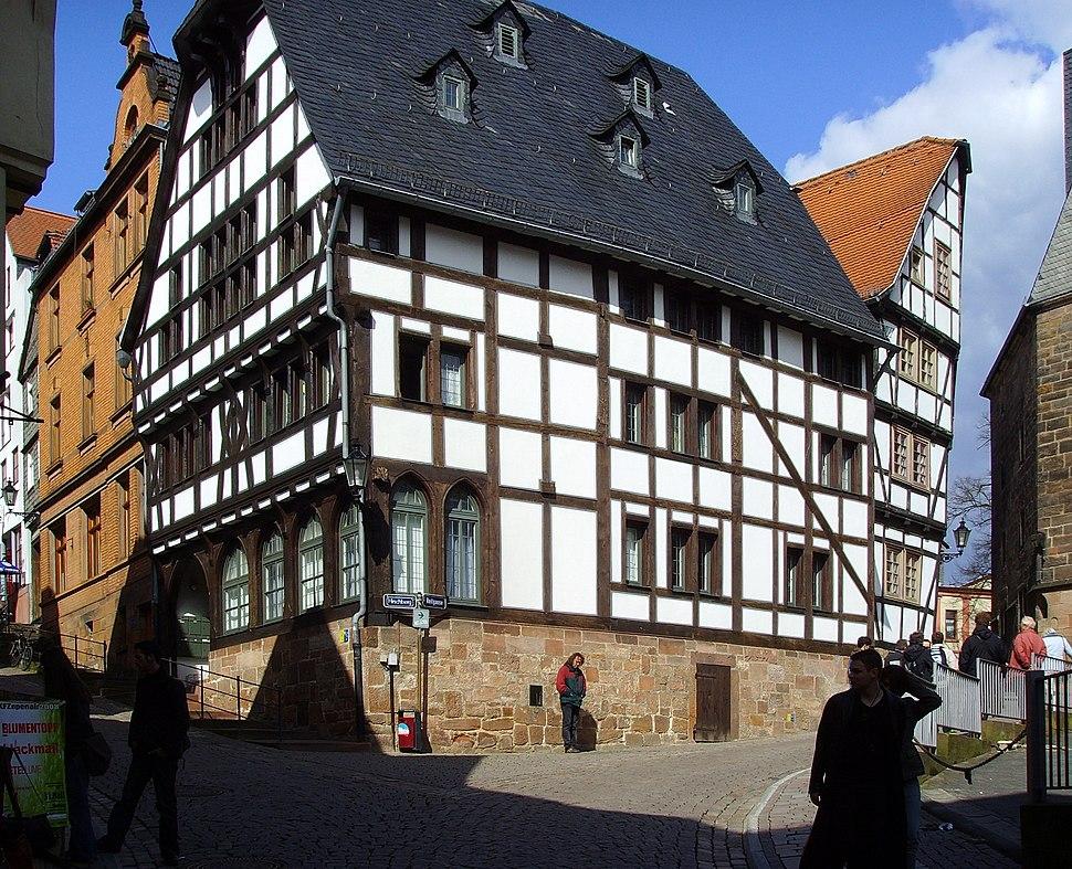 Marburg, Fachwerkhaus von 1321 (2)