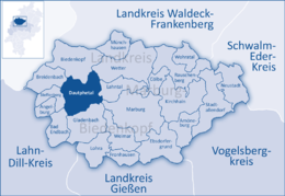Dautphetal and its neighbouring communities