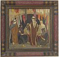 Marcel Amiguet, Souk d'Alep, 1930, huile sur bois.jpg