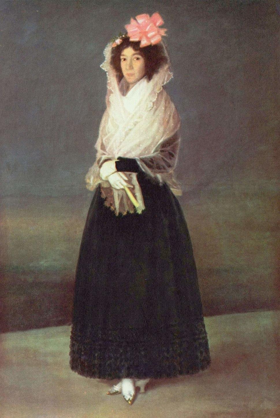 Marchioness of la Solana, Francisco de Goya