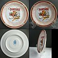 Marejada suvenire plate maden by Germer porcelane fabric in Brasil Fiesta in Itajai Brasil.jpg