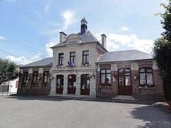 Marest-Dampcourt (Aisne) mairie à Marest.JPG