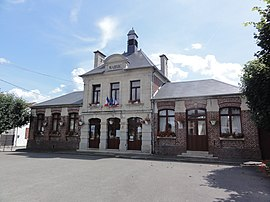 The town hall of Marest