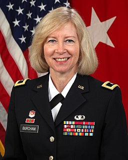 Margaret W. Burcham Brigadier-general in the U.S. Army Corps of Engineers