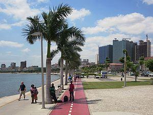 Marginal Promenade in Luanda - Angola 2015