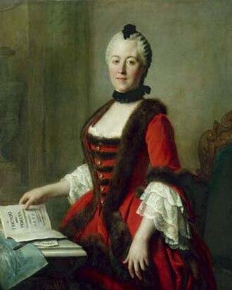 Duchess Maria Antonia of Bavaria - By Pietro Antonio Rotari