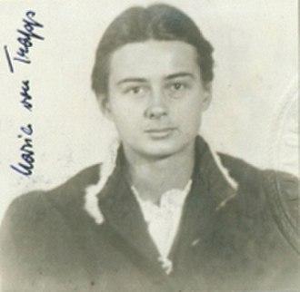 Maria Franziska von Trapp - Petition for Naturalization, 1948
