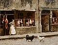 Marie-François-Firmin Girard - The Street in Paris - A I 310 - Finnish National Gallery.jpg