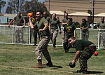Marines and members of the Young Marine Program participated in a dodge ball tournament during the annual Big Marine Little Marine event hosted by the Single Marine Program aboard Marine Corps Air Station Miramar.jpg