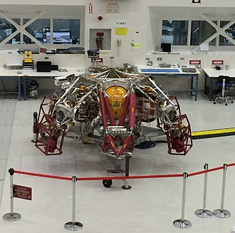 Mars 2020 - Powered Descent Vehicle, part of the sky crane landing system