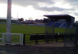 Stafford Rangers F.C. - Marston Road stadium