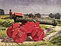 Martinus Rørbye - En kanon på citadelsvolden - 1826.jpg